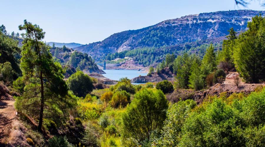 vista panoramica monti Trodos