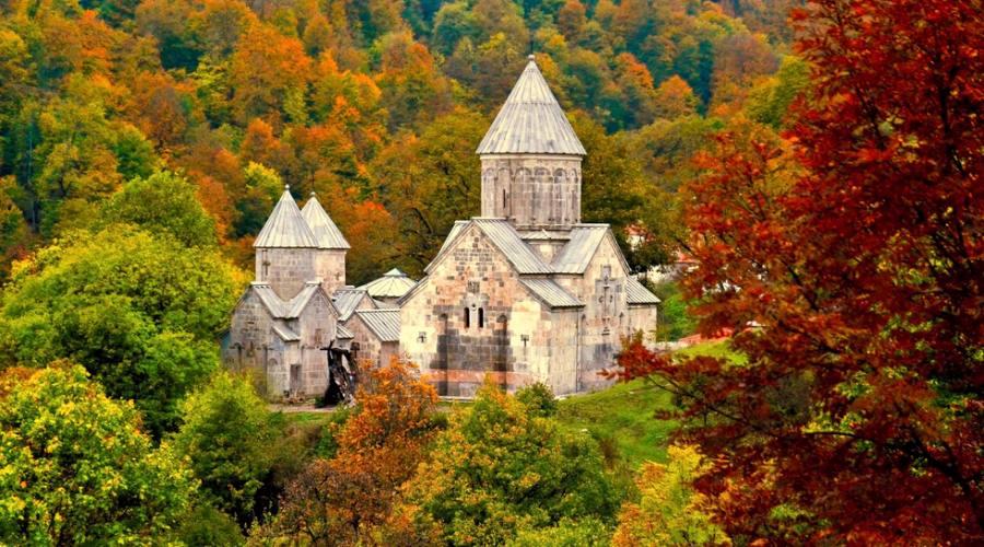 L'antico monastero di Haghartsin a Dilijan