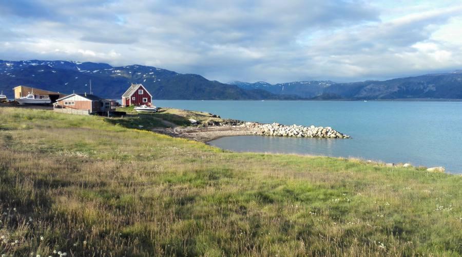 Paesaggio groenlandese