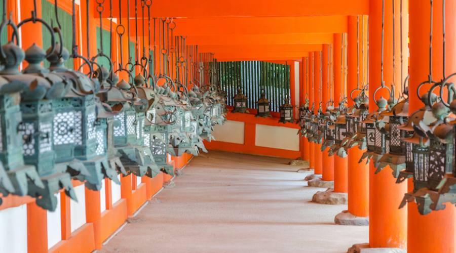 Nara, il tempio Kasuga Taisha