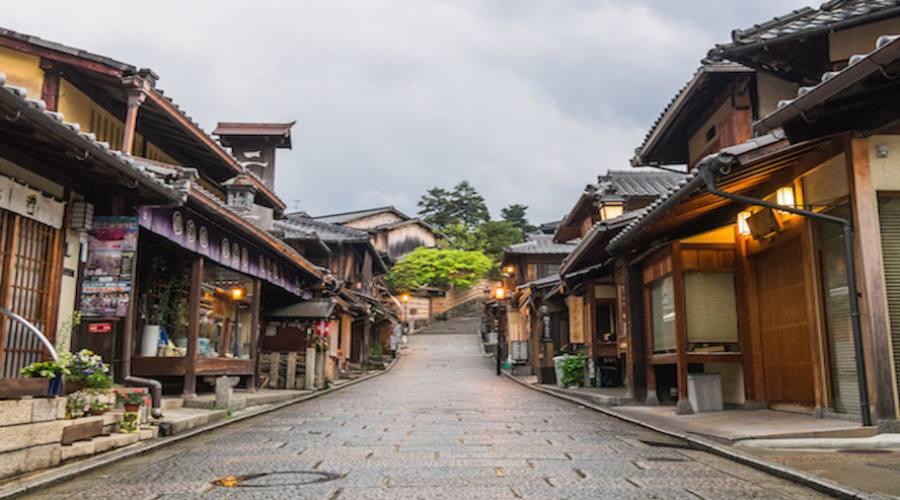 Takayama - via cittadina