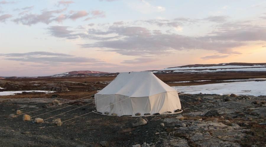 Tipica tenda Iniut