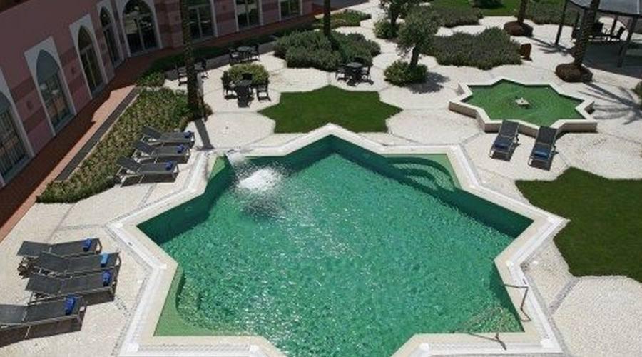 La piscina scoperta