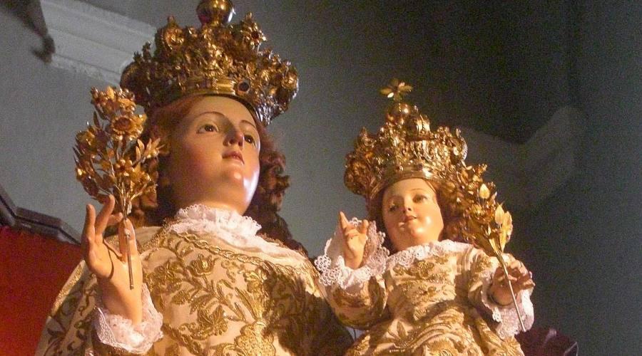Madonna e bambinello
