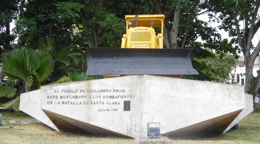 Santa Clara, Monumento Treno Blindato