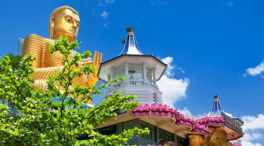 Il Tempio d'Oro di Dambulla