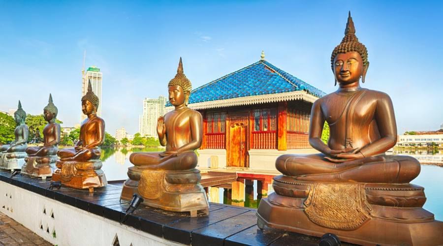 Il tempio Seema Lalaka a Colombo