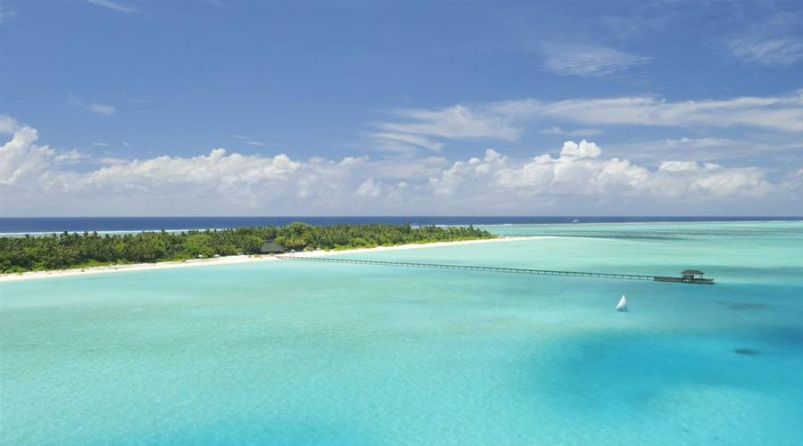 Holiday Island: la splendida laguna del resort