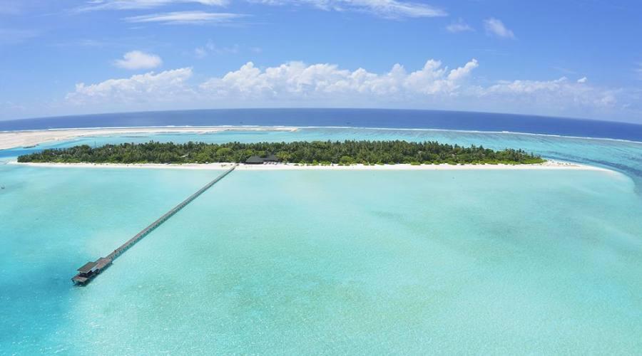 Holiday Island: L'isola vista dall'alto