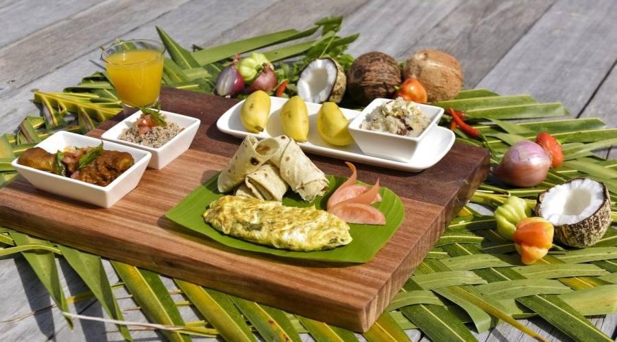Cucina ottima e curata alle Maldive