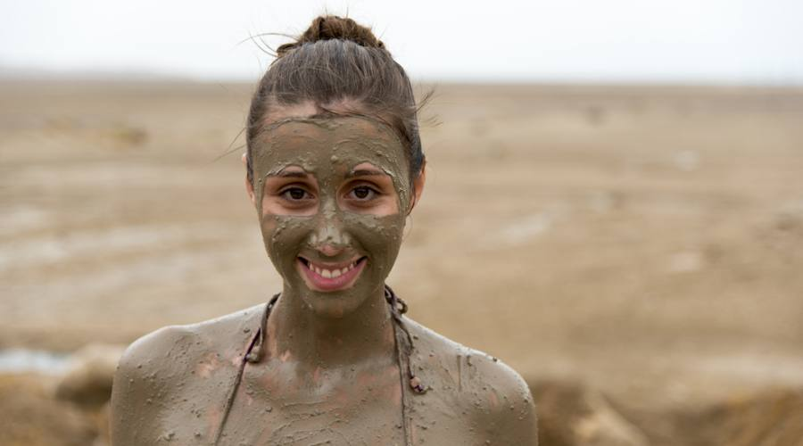 Cure della pelle sul Mar Morto