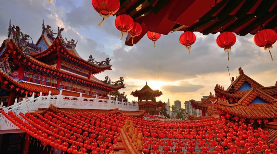 Il Thean Hou Temple a Kuala Lumpur