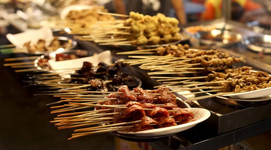 Street food a Kuala Lumpur