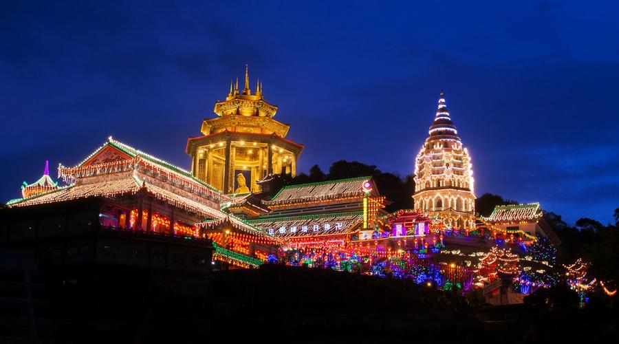 Tempio di Kek Lok Si: il piu' grande tempio buddista di tutta la Malesia