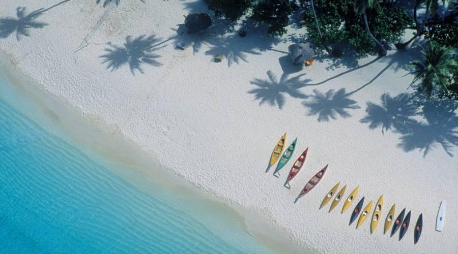 La spiaggia di Praslin