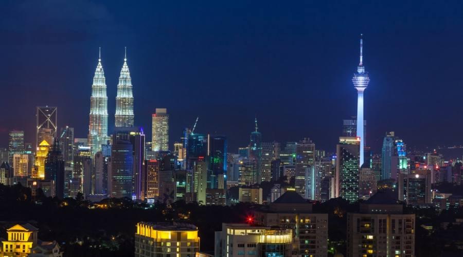 Kuala Lumpur di notte