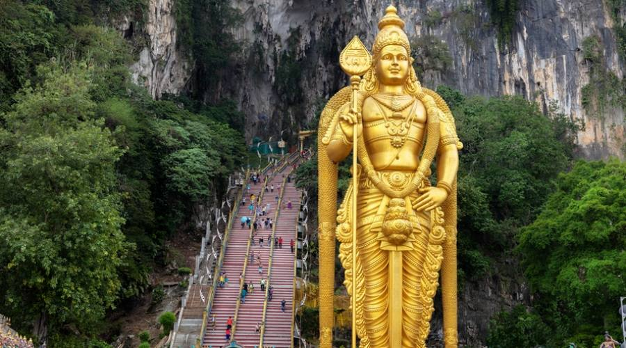 Malesia, tempio Batu Caves