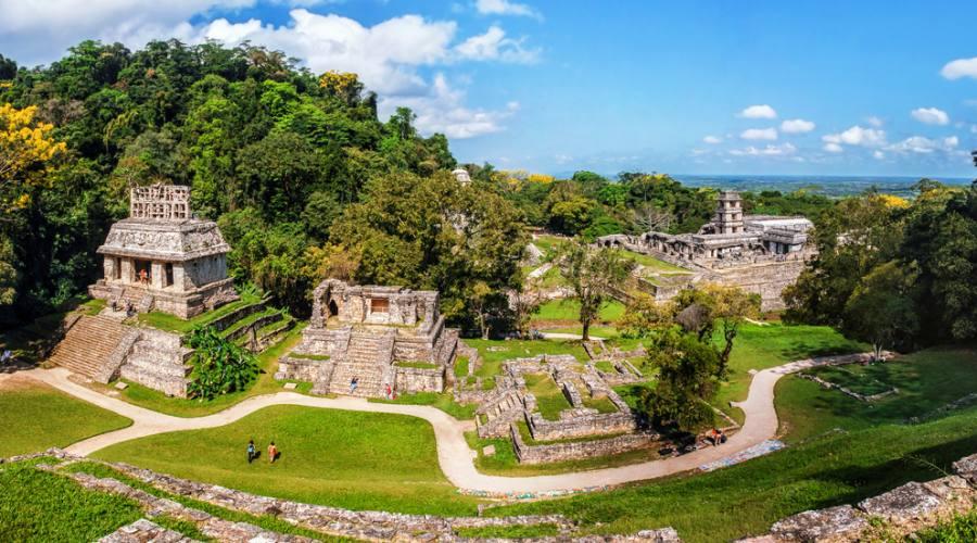 Rovine a Palenque