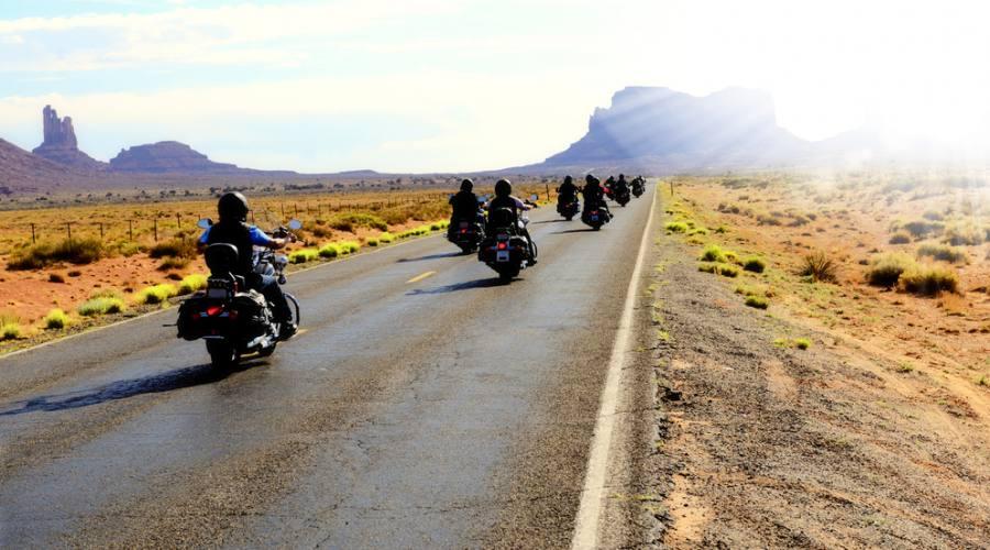 motorbike road