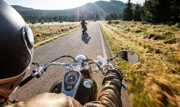 Inverno al caldo dell'ovest ... su due ruote!