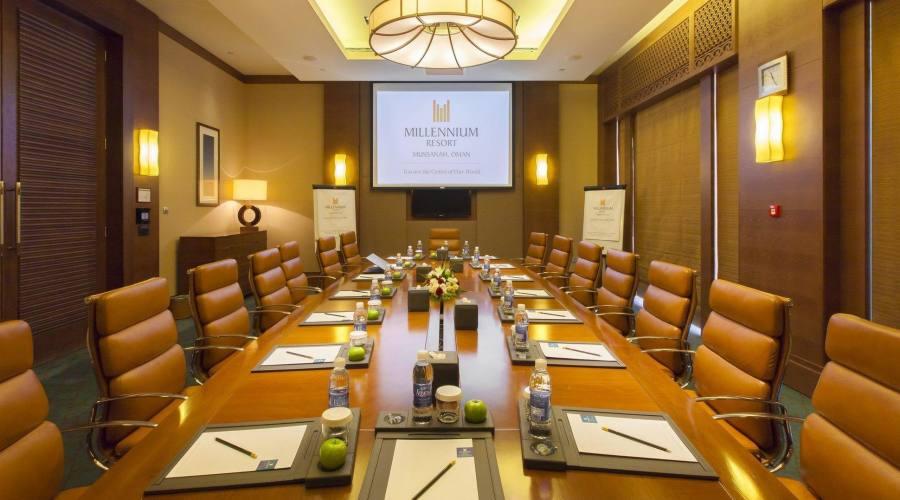 Sala conferenze al Millenium Hotel