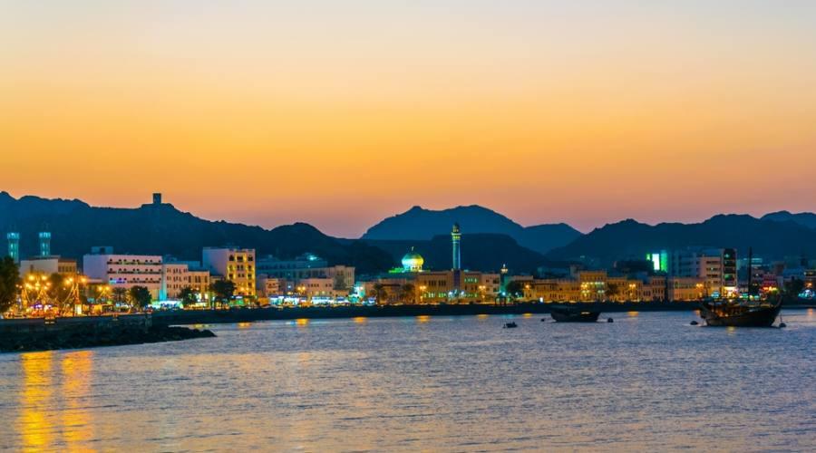 Vista su Muscat