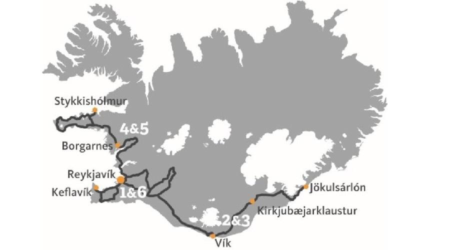 Itinerario Islanda