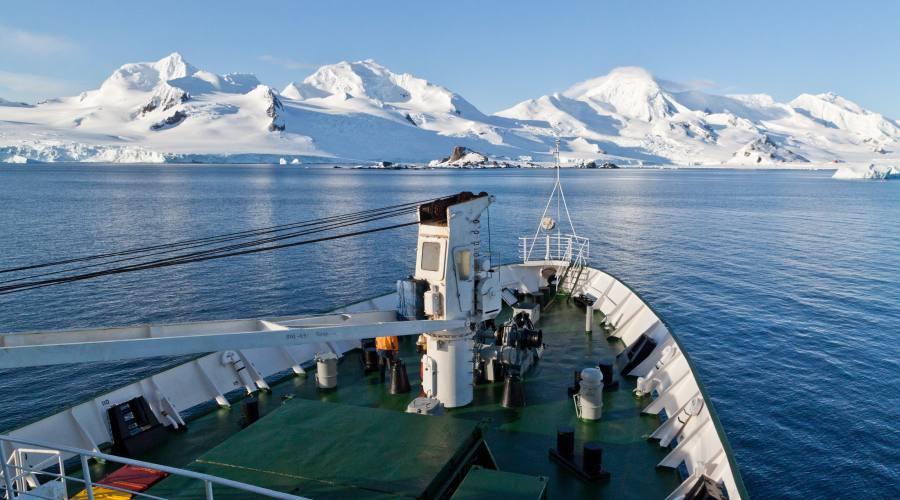 Partenza per le Isole Falkland