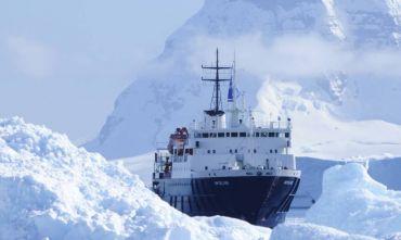 Una nave come campo base per il Polo Sud