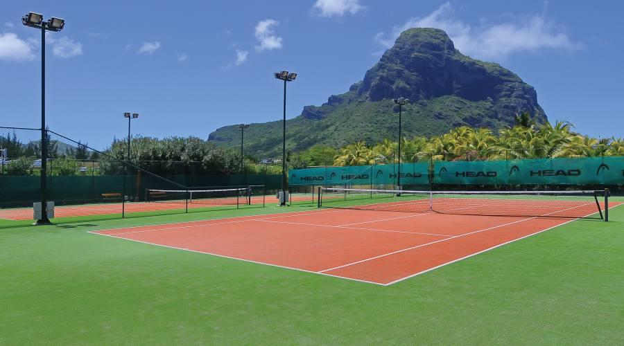 Una partita a tennis