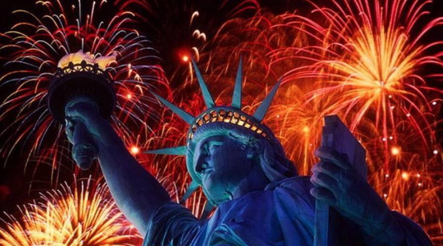 capodanno statua libertà