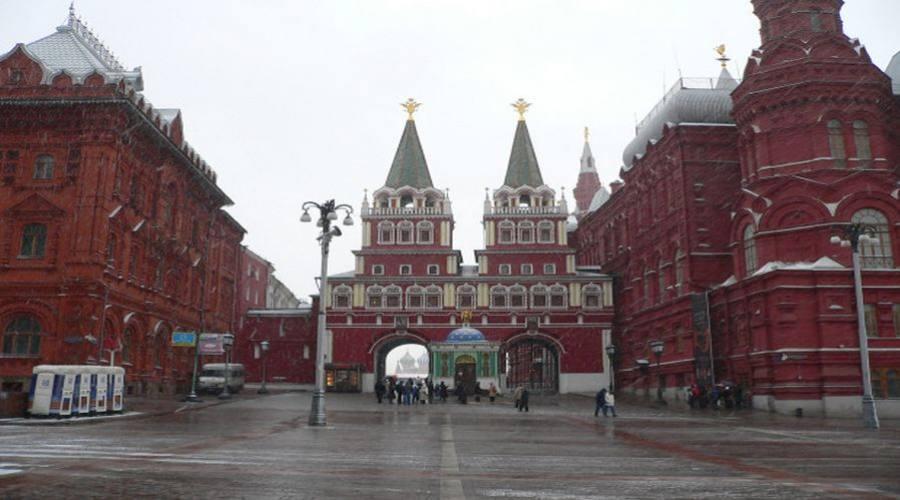 Mosca porta di accesso alla Piazza Rossa