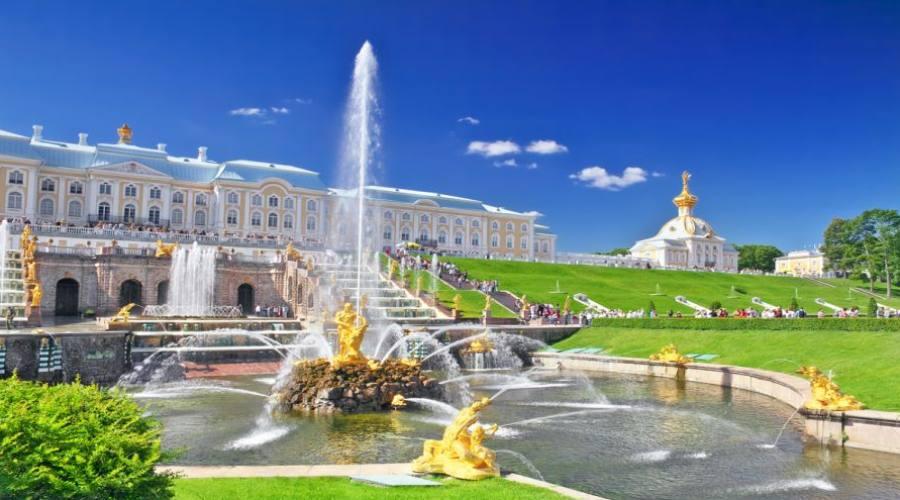 San Pietroburgo Fontane di Peterof