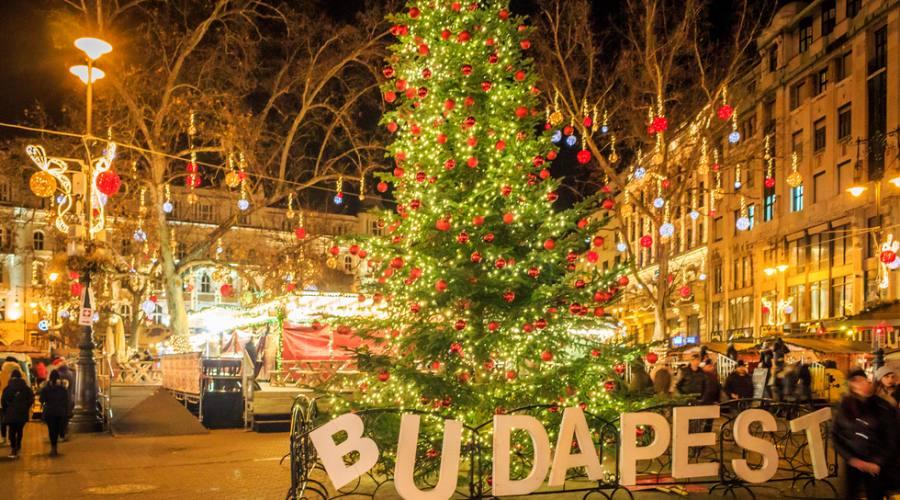 Budapest a Capodanno