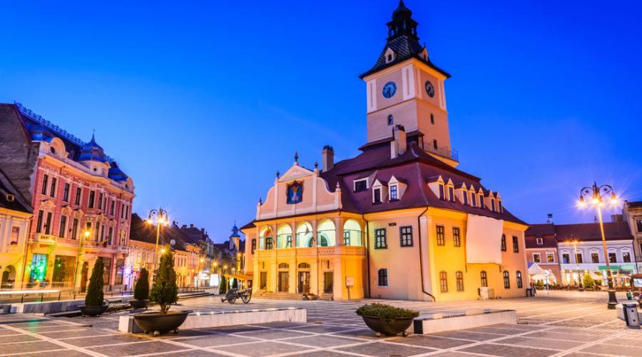 Brasov , in centro