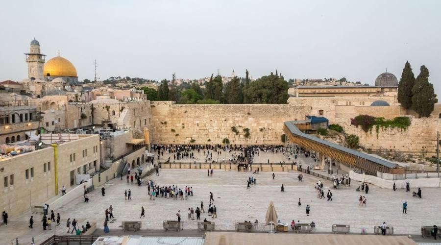 Gerusalemme il muro del pianto