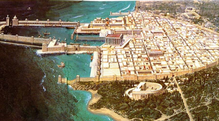 Cesarea ricostruzione