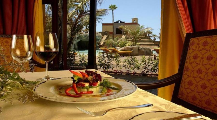 pranzo nel balcone della camera