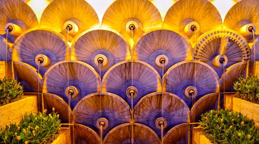 """particolare de """"La Cascata"""" - Yerevan"""