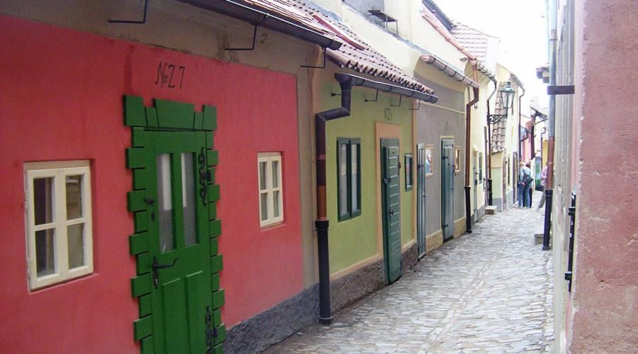 Praga, la via dell'oro