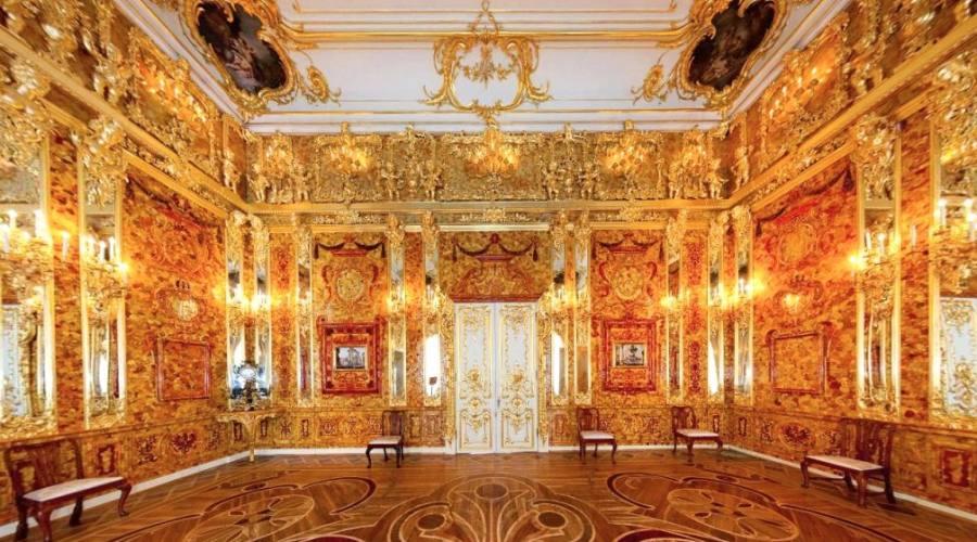 Sala d'Ambra del Palazzo di Caterina