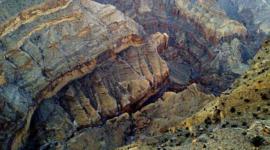 Jabal Shams- Canyon