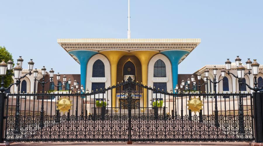 Il palazzo del Sultano-Muscat