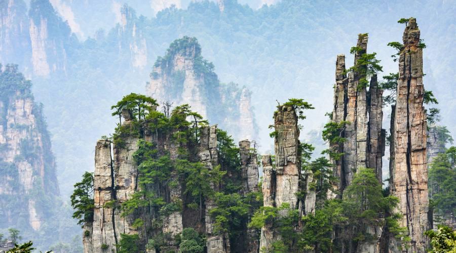 Zangjiajie Foresta di Avatar