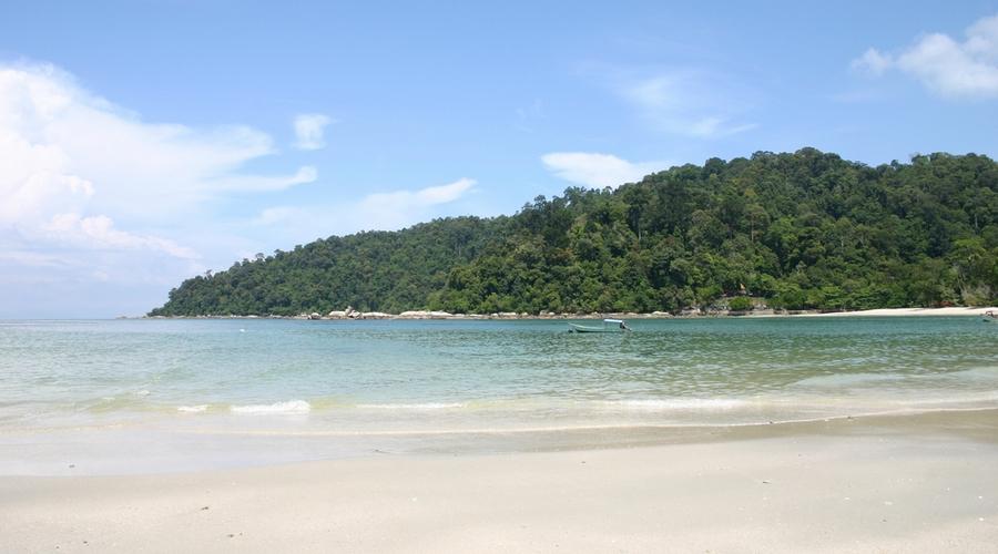 Una spiaggia a Pangkor