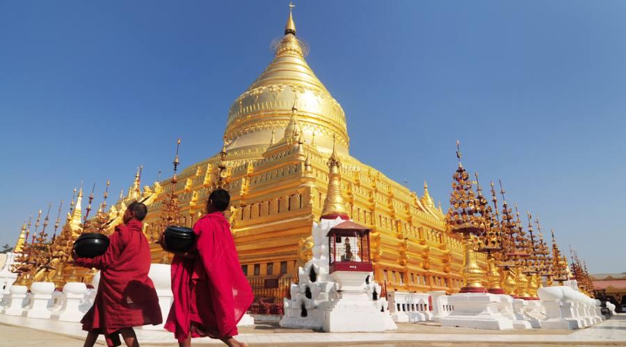 Swedagon Pagoda a Yangon