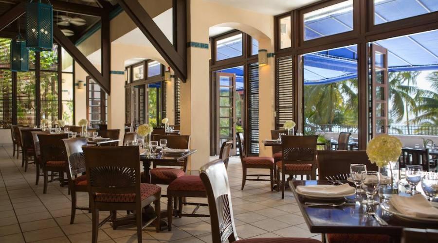 Il ristorante Saman