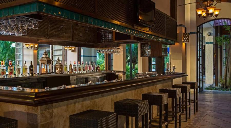 Il bar ristorante Flamboyant