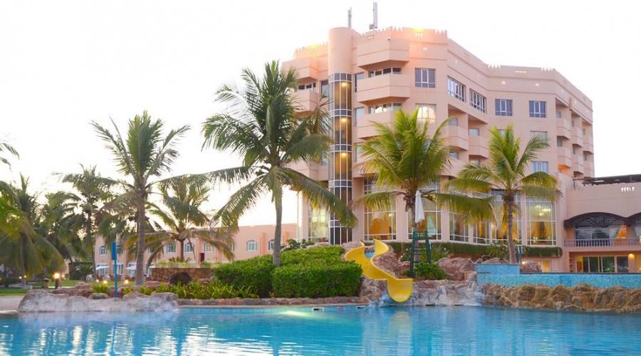 la struttura del hotel