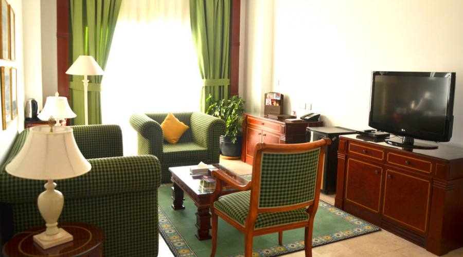 ambiente della suite